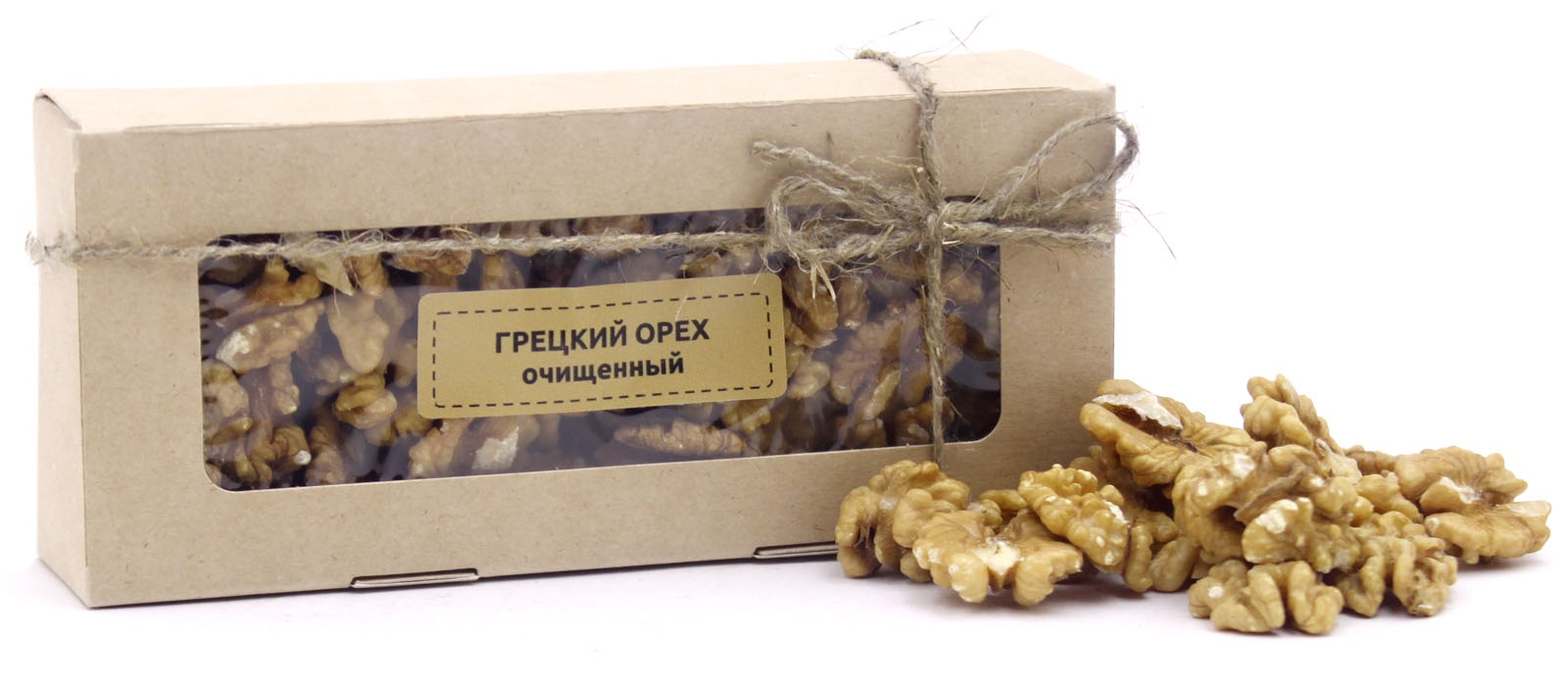 Орехи ВитаминФудс Грецкий орех очищенный Средняя азия, Грецкий орех