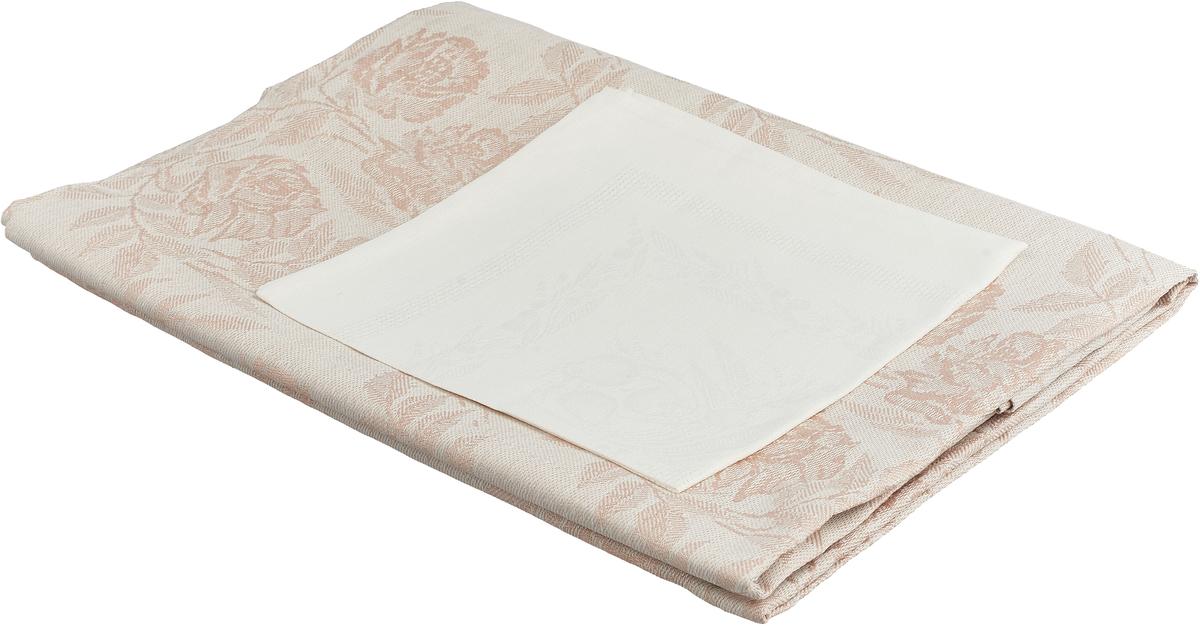 Набор столового белья Гаврилов-Ямский Лен, 1со3334/1со41, бежевый, 7 предметов capri одежда из льна