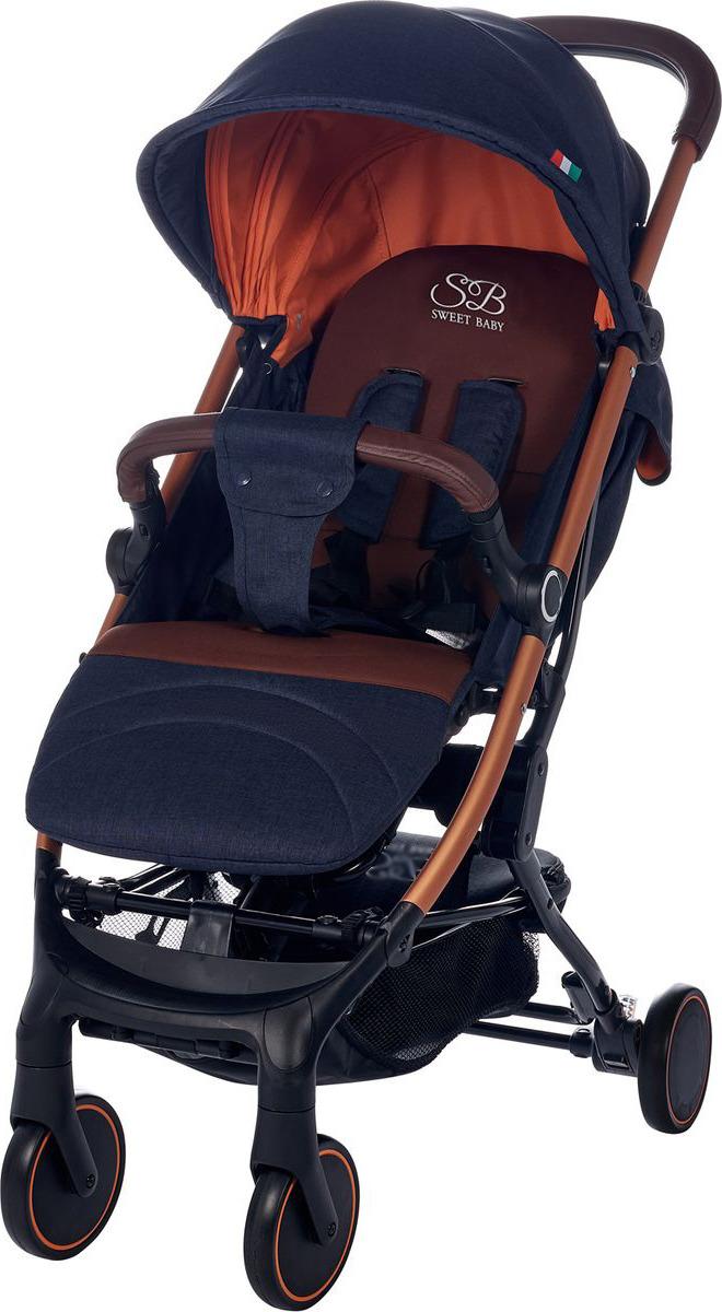Коляска прогулочная Sweet Baby Combina Tutto, 419646, темно-синий