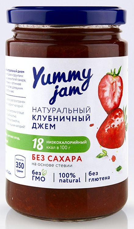 Джем Yummy Jam клубничный, 350 г джем принто клубничный 300 г