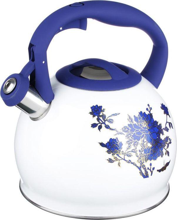 Чайник Vetta Синие цветы, 847071, 2,7 л цена