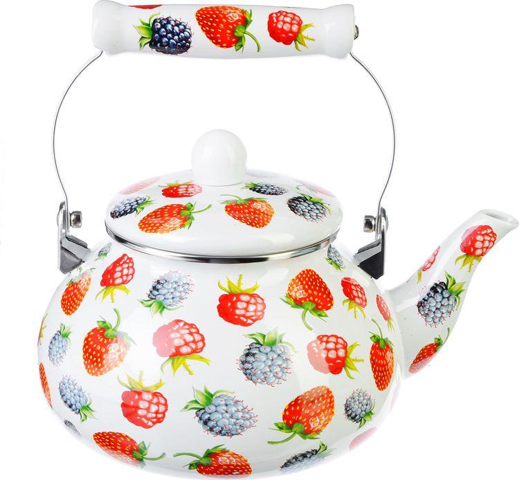 Чайник эмалированный Vetta Джем, 894438, 2,5 л цена