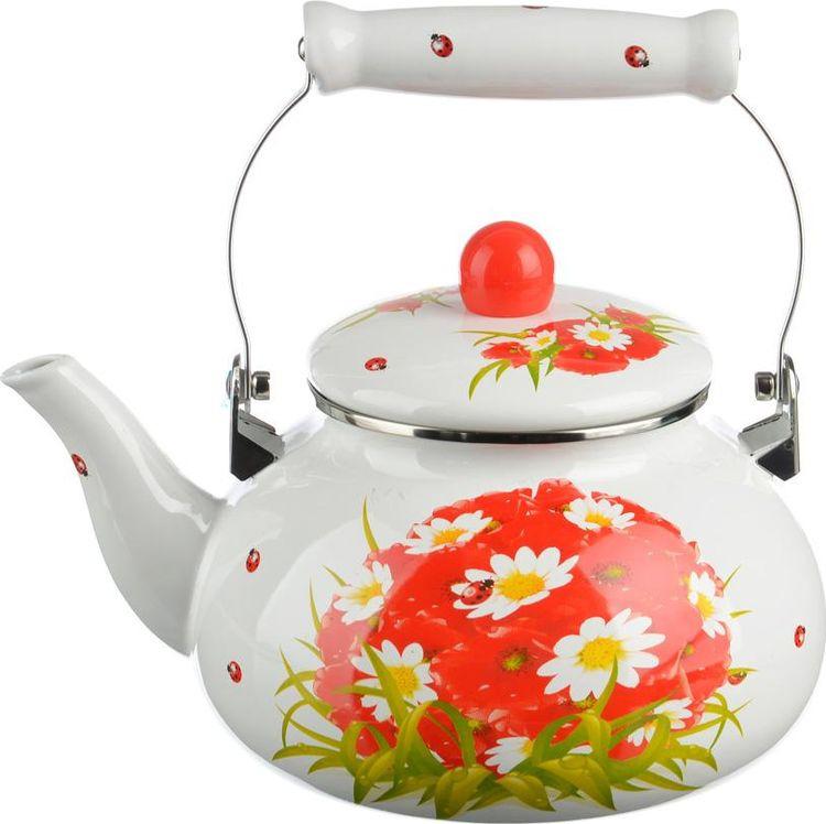 Чайник эмалированный Vetta Марика, 894456, 2,5 л цена