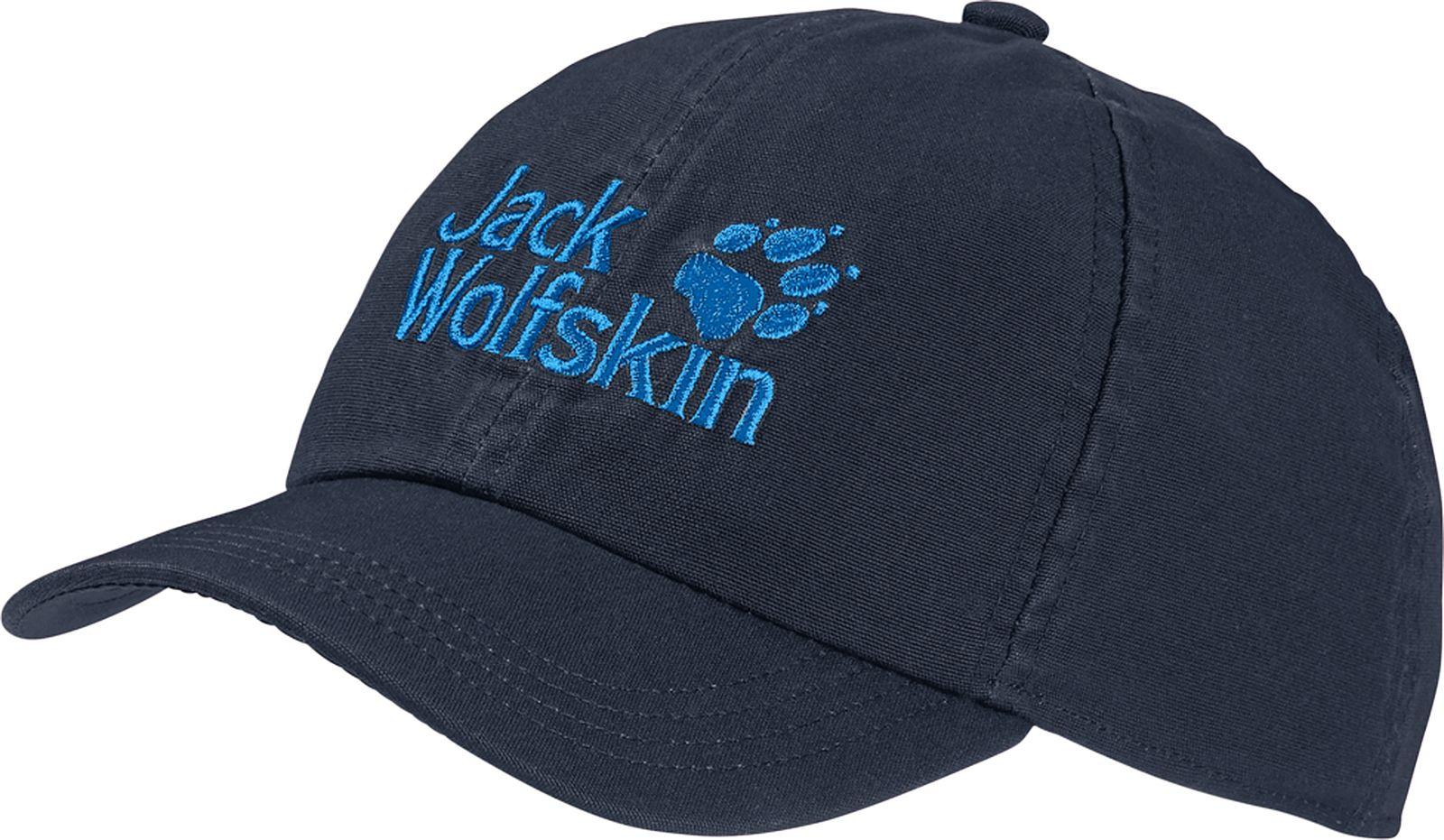 Бейсболка Jack Wolfskin бейсболка puma sf ls baseball cap цвет темно оливковый 02177602 размер универсальный