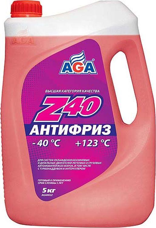 """Антифриз, готовый к применению """"AGA"""", красный, -40 °С. AGA 002 Z, 5 л"""