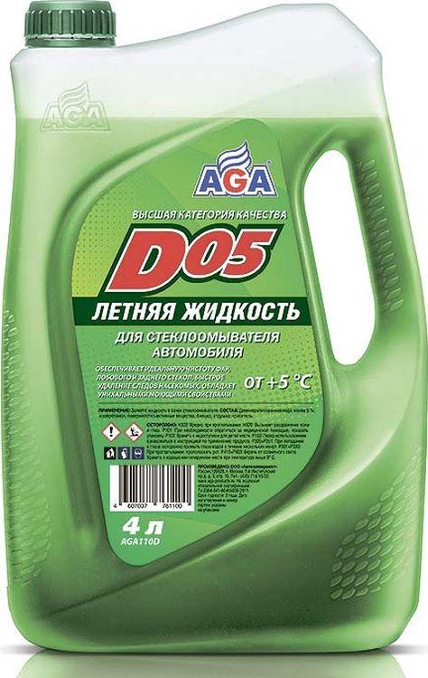 цены на Очиститель стекол AGA D05, AGA110D, летний, 4 л  в интернет-магазинах