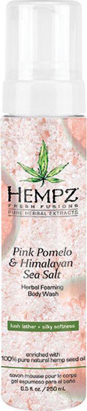 Гель для душа Hempz Pink Pomelo & Himalayan Sea Salt Herbal, 250 мл hempz гель для душа успокаивающий 265 мл
