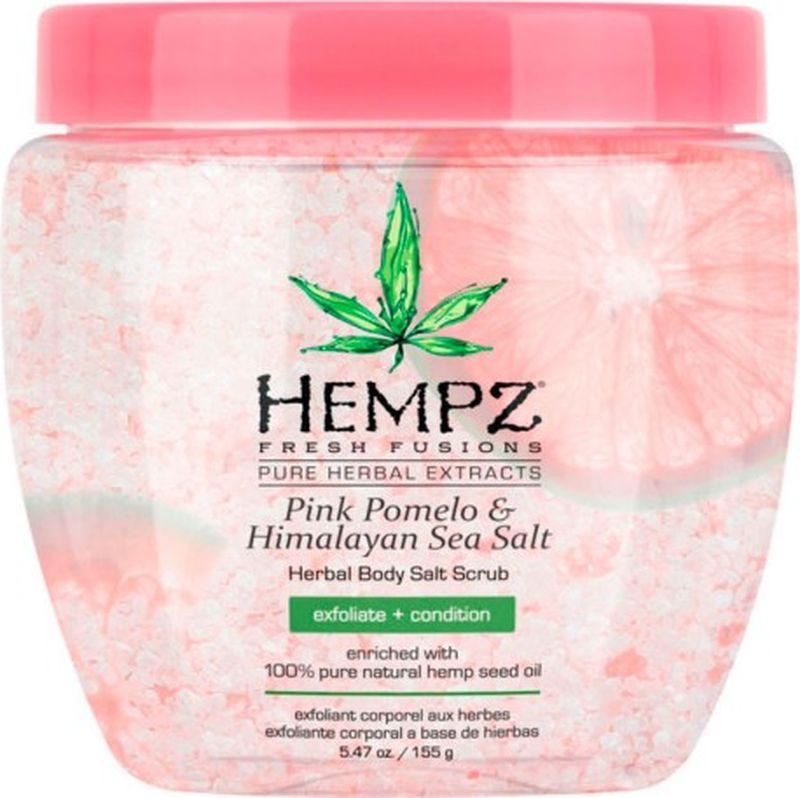 Скраб Hempz Pink Pomelo & Himalayan Sea Salt Herbal для тела, 155 г l occitane соль скраб для тела вербена