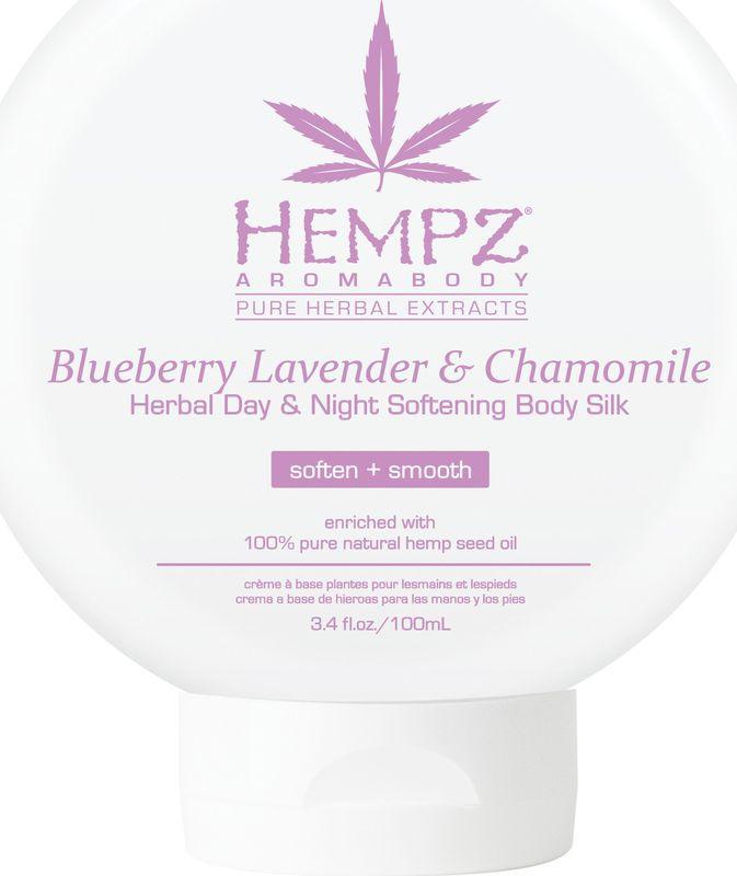 Молочко косметическое Hempz Blueberry Lavender & Chamomile Herbal для лица  тела, смягчающий, 250 мл