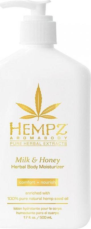 Молочко косметическое Hempz Milk & Honey Herbal для тела, увлажняющее, 500 мл