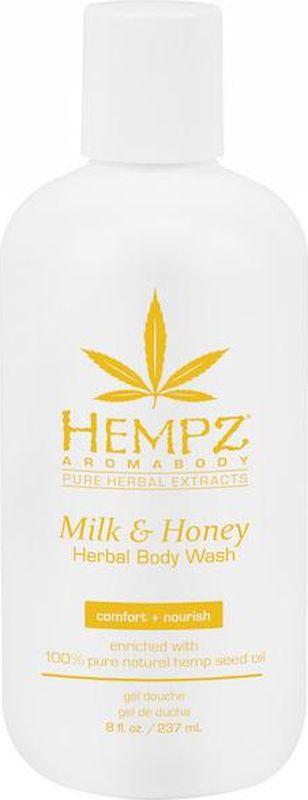 Гель для душа Hempz Milk & Honey Herbal, 237 мл