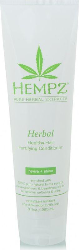 Кондиционер для волос Hempz Herbal Здоровые волосы растительный, укрепляющий, 265 мл