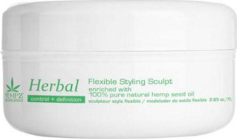 Паста для укладки волос Hempz Herbal Здоровые волосы растительная, моделирующая, пластичной фиксации, 75 г моделирующая паста