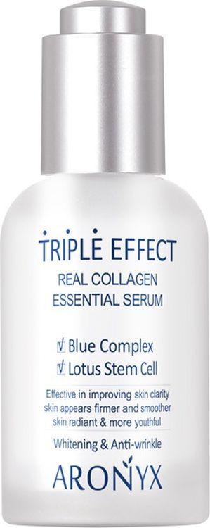 Сыворотка для лица Medi Flower Aronyx Triple Effect Serum Тройной эффект, с морским коллагеном, 50 мл цена