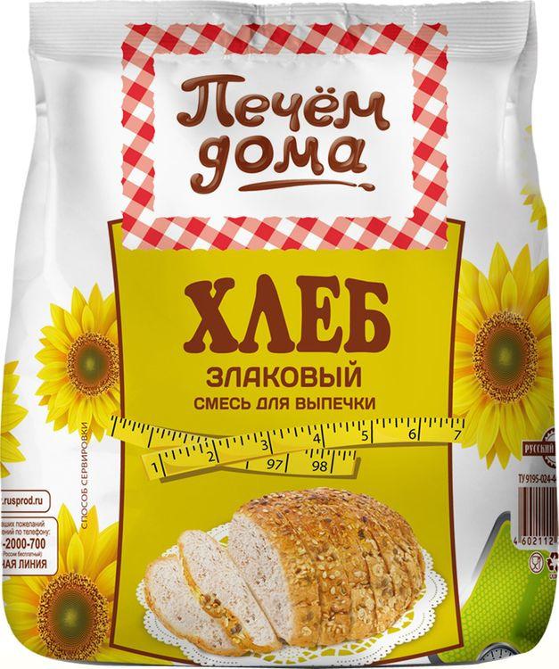 Печем дома Хлеб злаковый смесь для выпечки, 500 г диск replay sk42 6 5x16 5x112 et50 0 sil
