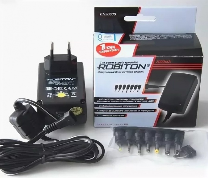 Зарядное устройство Robiton EN2000S, EN2000S зарядное устройство robiton mastercharger 2b pro lcd