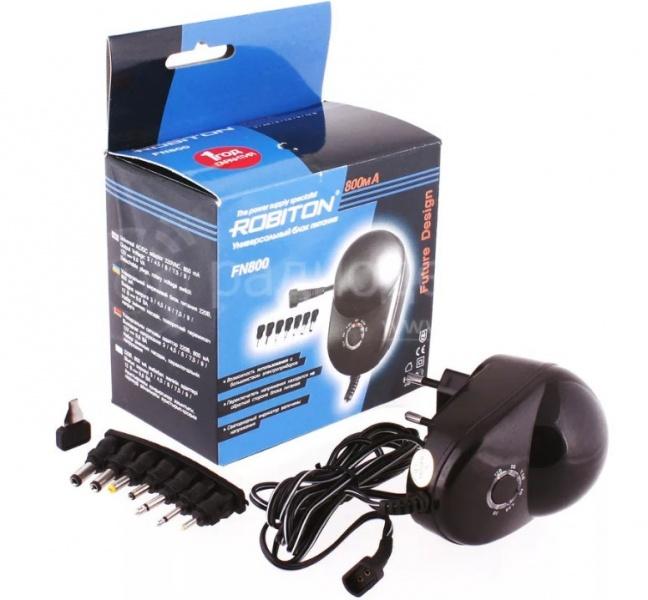 все цены на Зарядное устройство Robiton FN800, FN800 онлайн