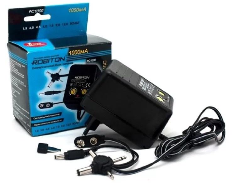 все цены на Зарядное устройство Robiton PC1000, PC1000 онлайн
