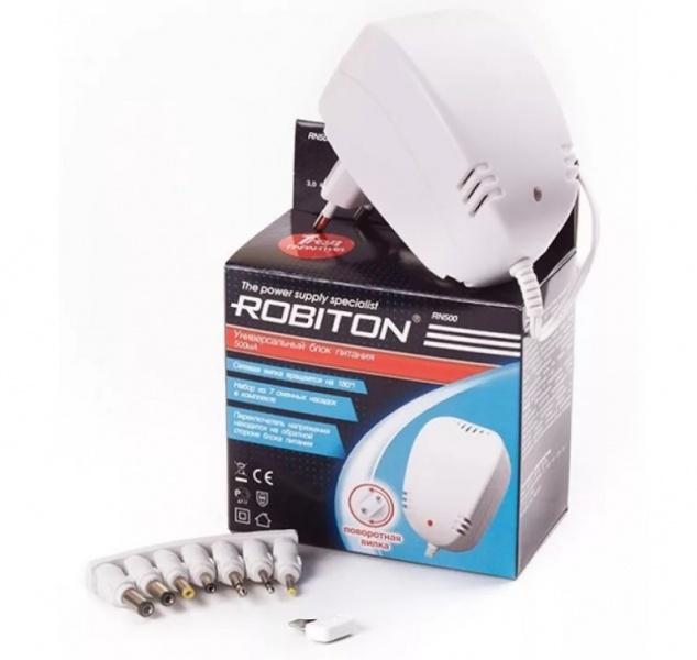 все цены на Зарядное устройство Robiton RN500, RN500 онлайн