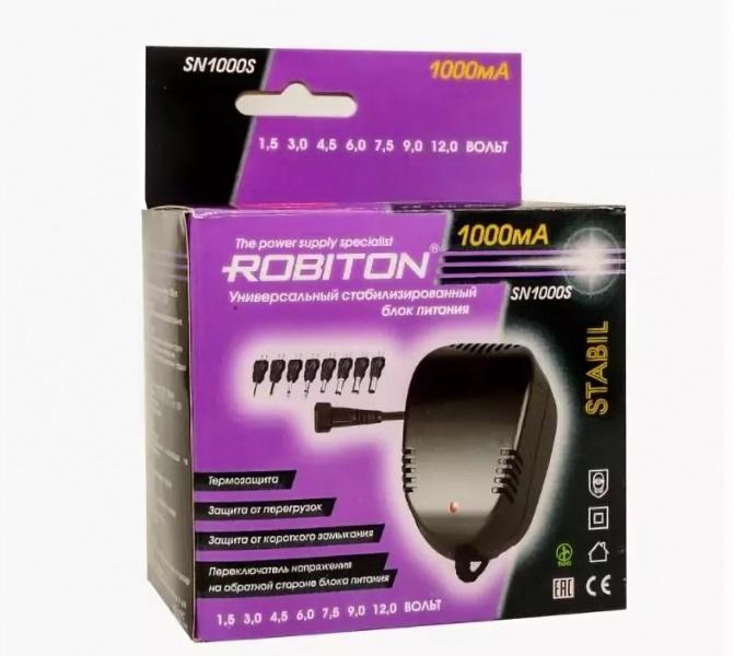 все цены на Зарядное устройство Robiton SN1000S, SN1000S онлайн