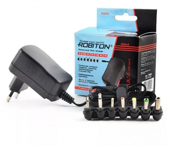 Зарядное устройство Robiton TN500S, TN500S блок питания robiton en3000s