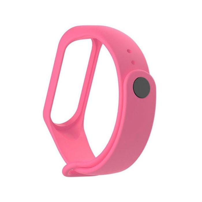 Ремешок для фитнес-браслета mi Xiaomi Mi Band 3, MiB3pinck, розовый