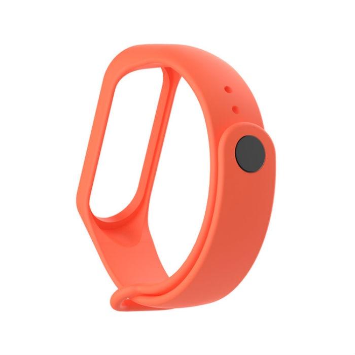 Ремешок для фитнес-браслета mi Xiaomi Mi Band 3, MiB3oreng, оранжевый