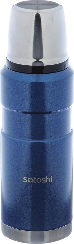 Термос Satoshi Торнадо, 841764, синий, 600 мл