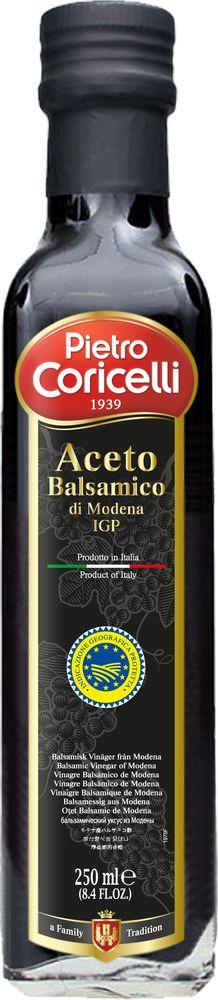 Уксус Pietro Coricelli Из Модены бальзамический, 250 мл santolino бальзамический крем из модены 250 мл