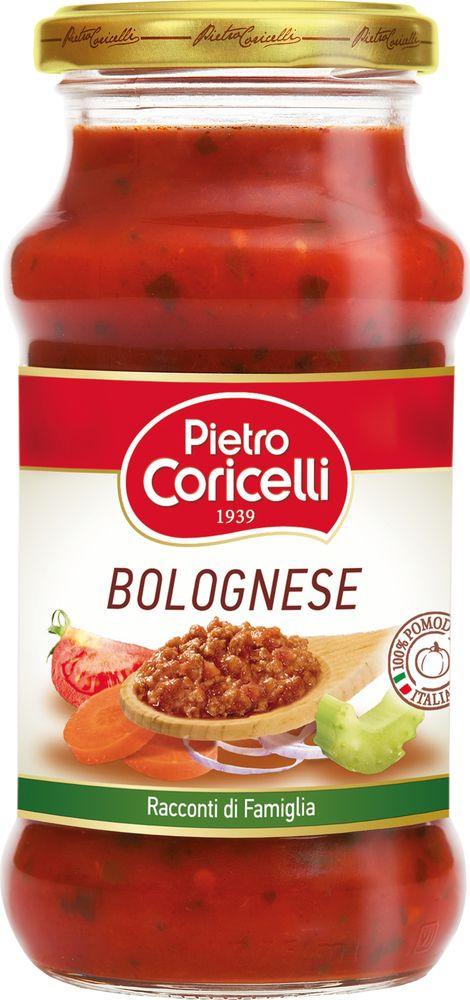 Соус для приготовления Pietro Coricelli Болоньезе томатный, 350 мл