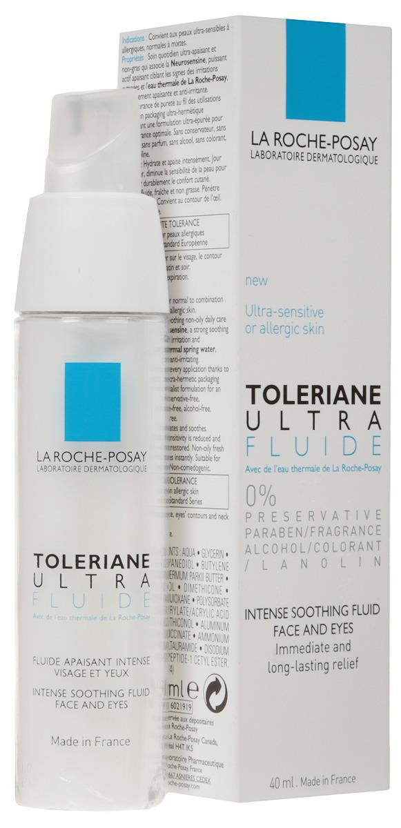 La Roche-Posay Флюид для лица Toleriane Ультра 40 мл флюид толеран ультра 40 мл la rocheposay toleriane