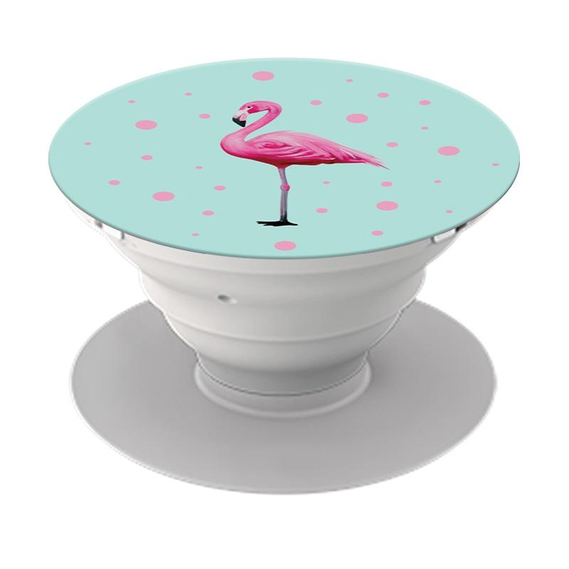 Держатель для телефона POPSO Фламинго, бирюзовый