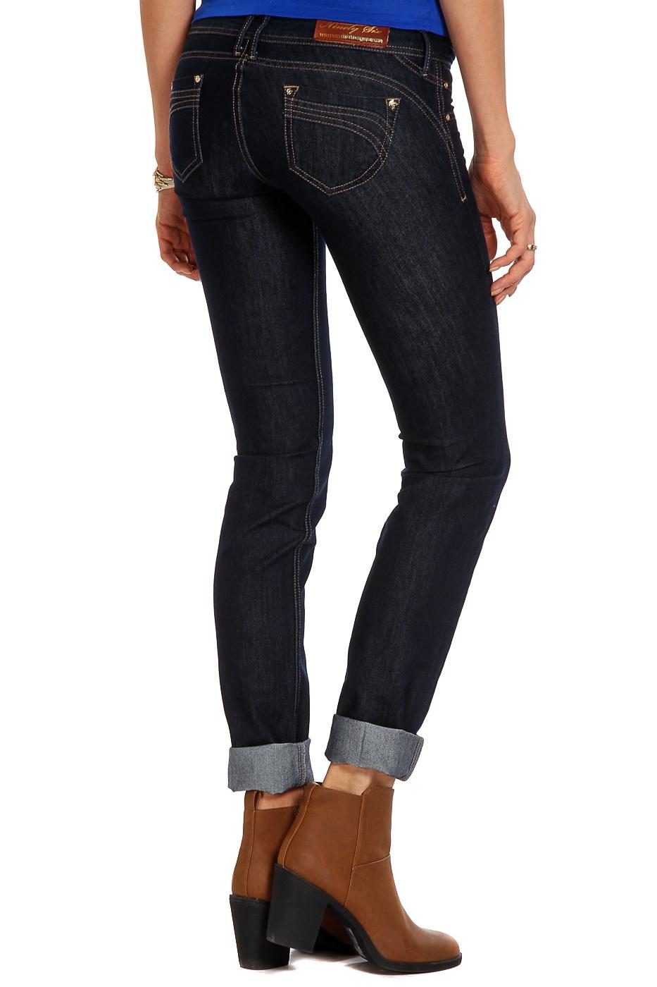 Джинсы WHITNEY джинсы из денима стретч