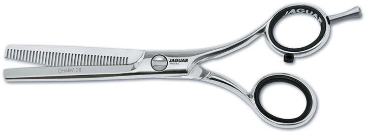 Ножницы парикмахерские Jaguar Charm 38, филировочные, WL парикмахерские принадлежности пассаж на немиге