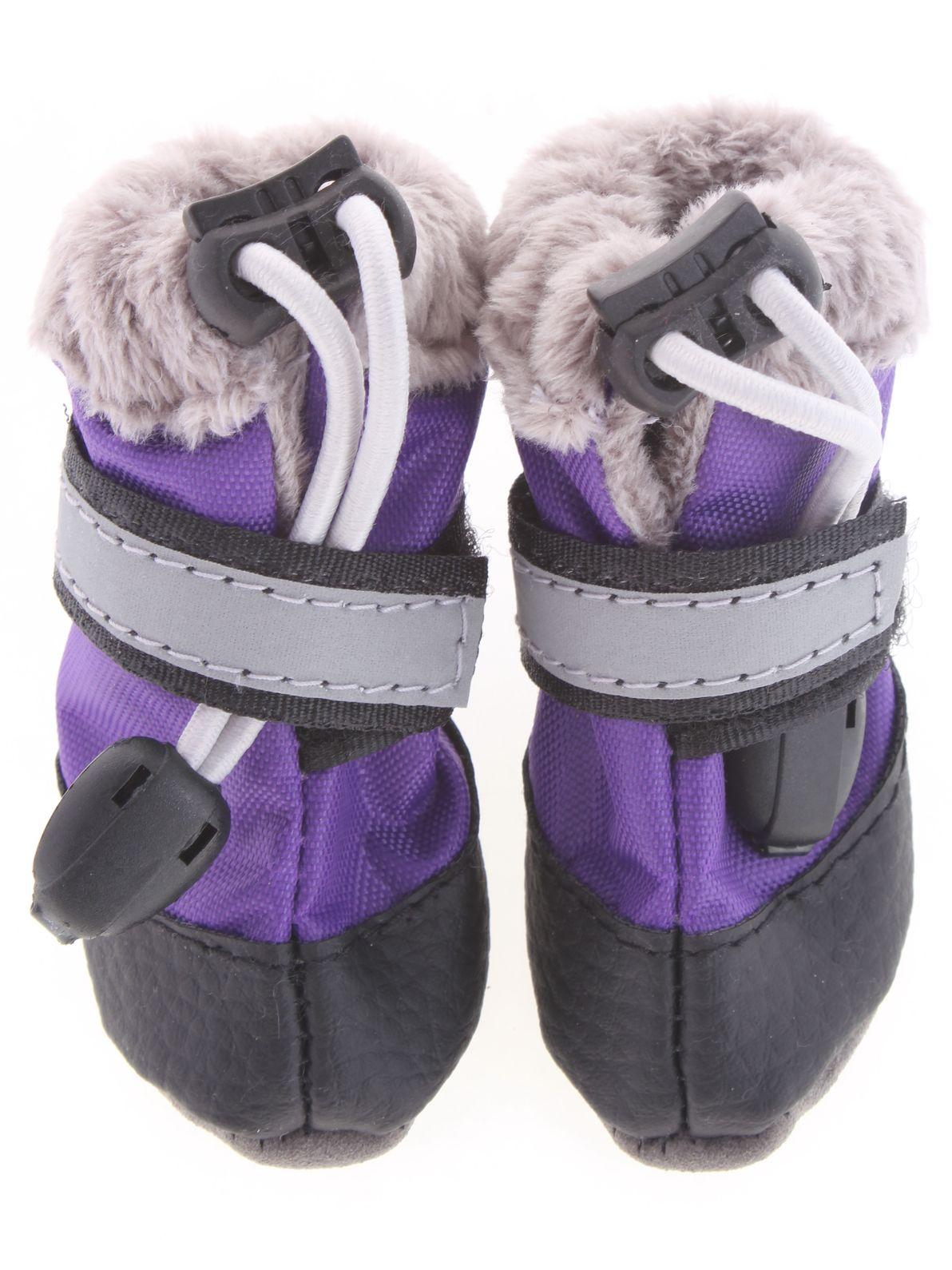 Обувь для животных ЗООМАНИЯ сапоги для собак7426936750100Пара обуви для собак, размер лапы (S) 6,5*4,5см., Высота - 10см.