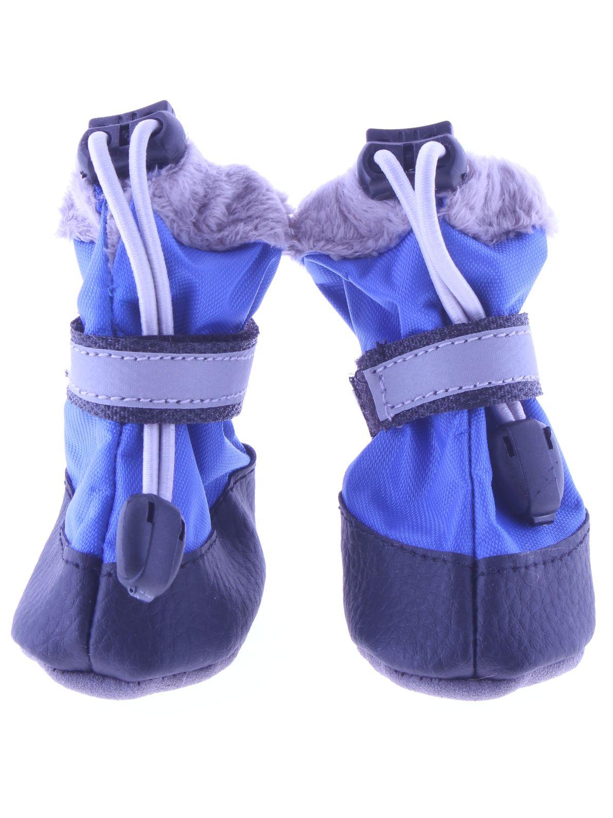 Обувь для животных ЗООМАНИЯ 74269367502927426936750292Обувь(пара) для собак, размер (S) 6,5*4,5*h10см