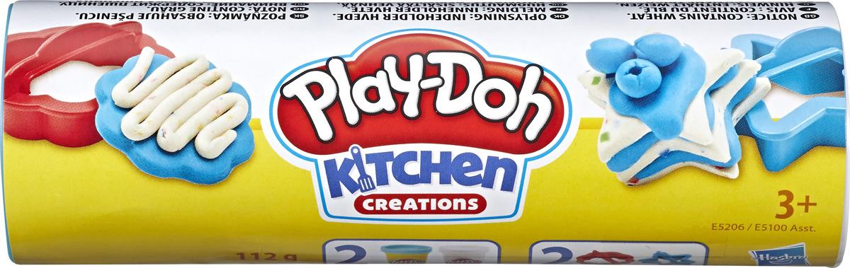 "Набор для лепки Play-Doh Food Role Play ""Мини-сладости"", E5100EU4"