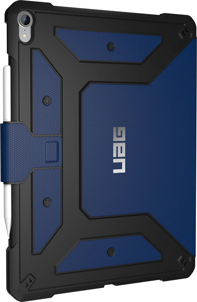 Защитный чехол UAG Metropolis для Apple iPad Pro 12,9'', 121396115050, cobalt biaze apple ipad mini2 3 1 защитный чехол корпус с подсветкой и умный спящий трехслойный кожаный чехол pb10 tiffany