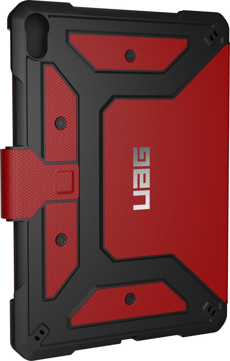 Защитный чехол UAG Metropolis для Apple iPad Pro 11'', 121406119393, красный biaze apple ipad mini2 3 1 защитный чехол корпус с подсветкой и умный спящий трехслойный кожаный чехол pb10 tiffany