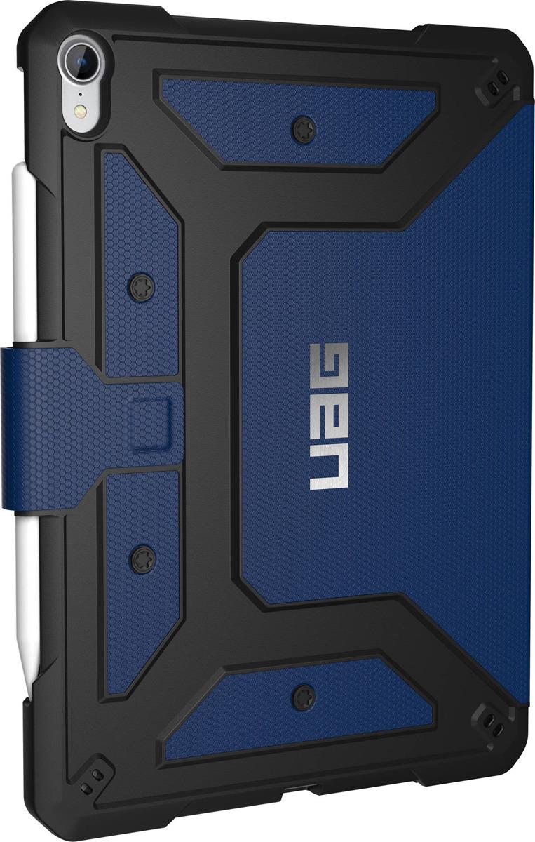 Защитный чехол UAG Metropolis для Apple iPad Pro 11'', 121406115050, синий biaze apple ipad mini2 3 1 защитный чехол корпус с подсветкой и умный спящий трехслойный кожаный чехол pb10 tiffany