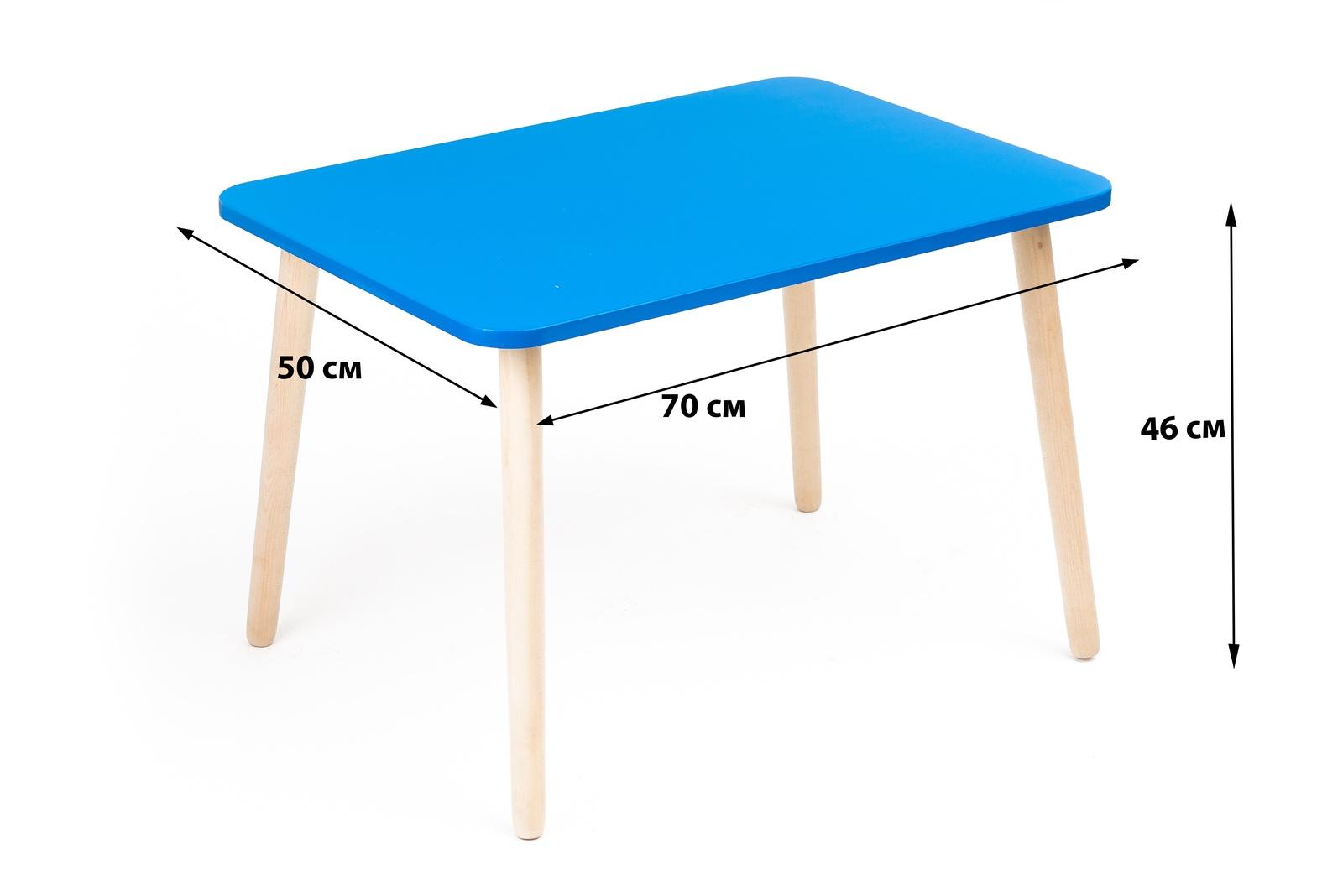 Детский стол Polli Tolli Джери, 33674, голубой стол polli tolli джери оранжевое солнце