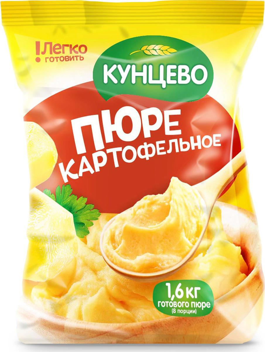 Пюре быстрого приготовления Кунцево, без добавок, 240 г пюре podravka картофельное