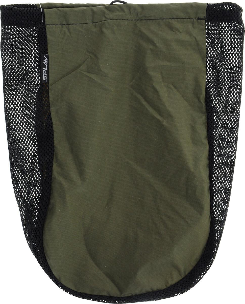 Мешочек сетчатый Сплав, универсальный, цвет: черный, хаки, 23 х 30 см