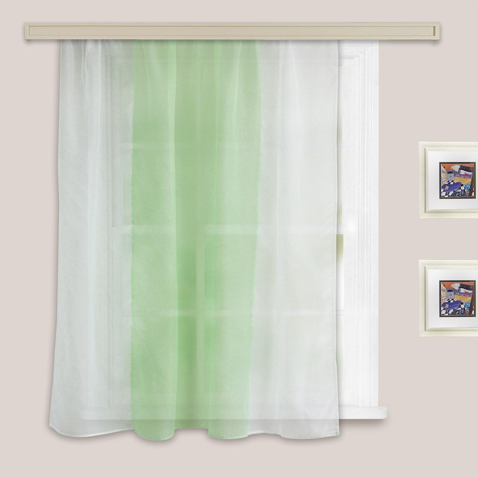 Гардина Witerra Моника, светло-зеленый шторы для кухни 2013 фото