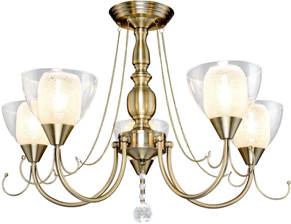 Потолочный светильник Максисвет 4132, 2-4132-5-AB E14, 580х580х460, E14, 60 Вт цена