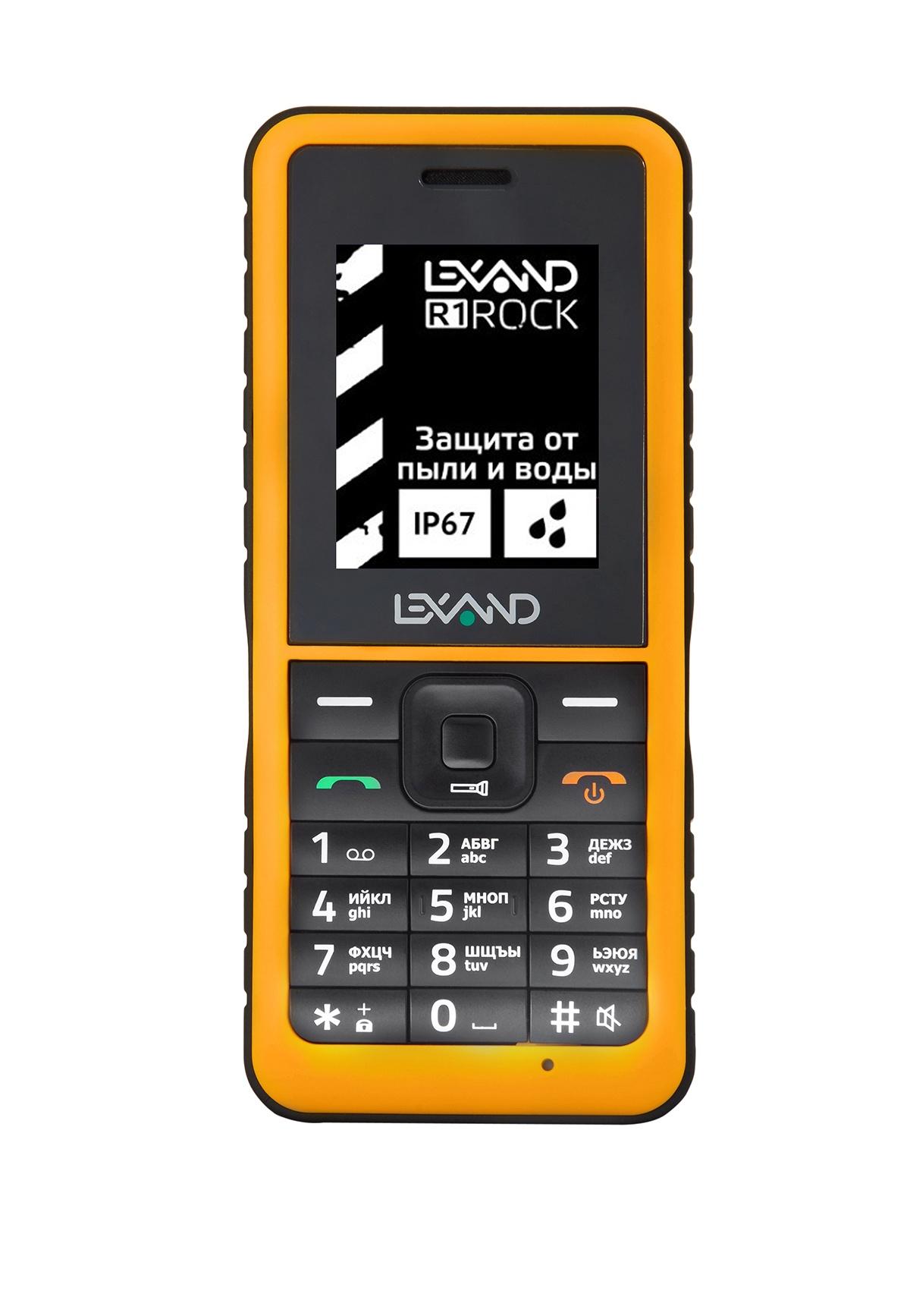 Мобильный телефон Lexand R1 ROCK мобильный телефон lexand r1 rock черный