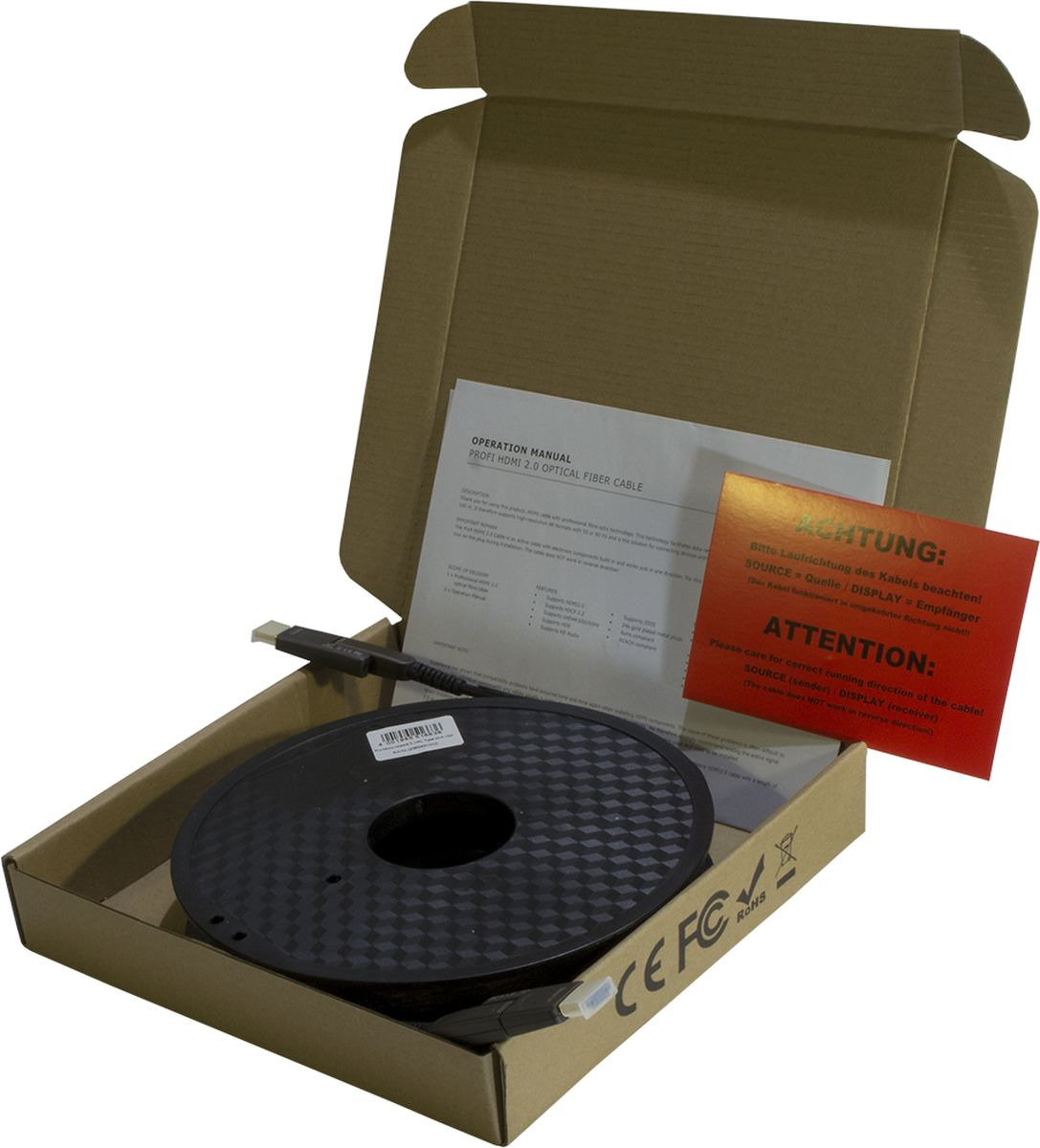 Кабель Eagle Cable Profi, HDMI, micro HDMI, 3132431010, черный, 10 м кабель акустический в нарезку supra rondo bi wire 4 x 4 mm