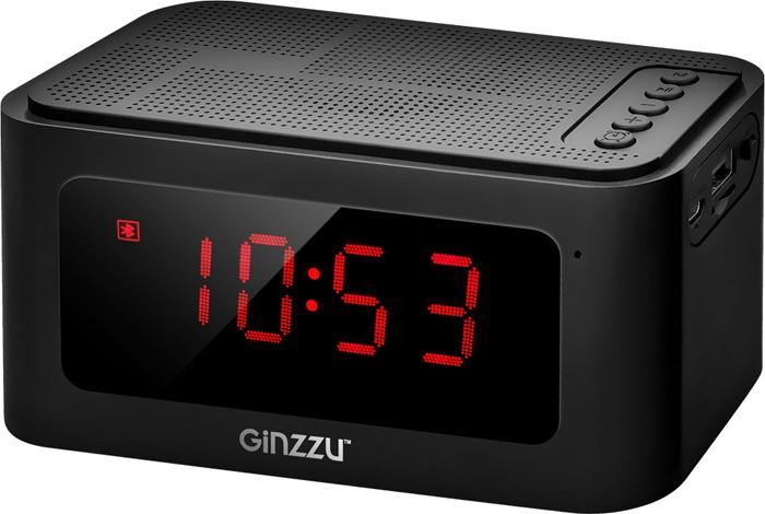 Беспроводная колонка Ginzzu, GM-881B, черный беспроводная колонка ginzzu gm 988o черный оранжевый