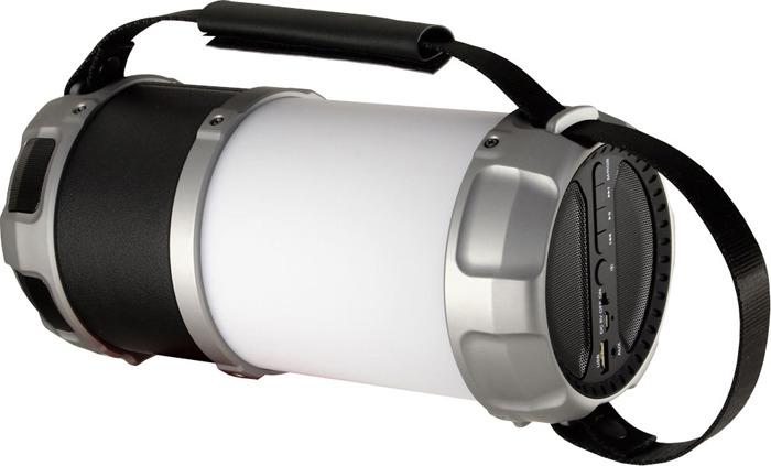 Беспроводная колонка Ginzzu, GM-889B, черный портативная колонка ginzzu gm 889b 20вт черный