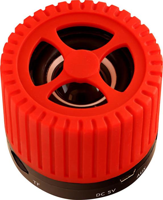 лучшая цена Беспроводная колонка Ginzzu, GM-988R, черный, красный